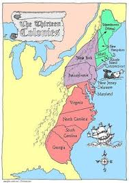 the thirteen colonies map 13 colonies resources mrs roybal