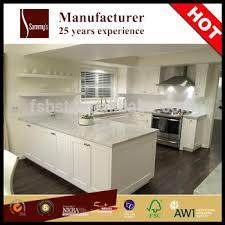 sk1104 china guangdong kitchen cabinet manufacturer pu finish