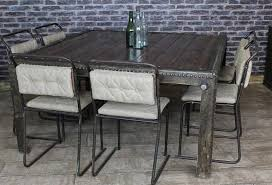 industrial kitchen table furniture industrial dining table fabulous converted water tank with reclaimed