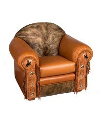 Leather Armchair Mustang Chair Rustic Artistry