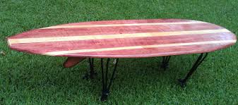 Surfboard Coffee Table Surfboard Coffee Table Hometalk