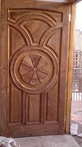 Front Door Design Photos Marvellous Classic Teak Single Door Design With 15 Panels Decors