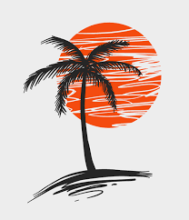 palm tree vector free