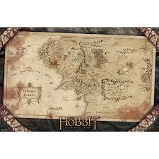 Map Of Mordor Amazon Com Trends International Unframed Poster Prints The