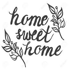 home sweet home decorations hand drawn ink typography poster home sweet home for cards