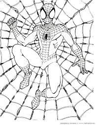 25 spiderman coloring ideas spiderman