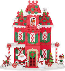 shop for the christmas house 3d structure foam craft kit by
