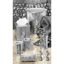Silver Bathroom Accessories Sets by 7 Best Shower Curtain Sets U0026 Accessories Images On Pinterest