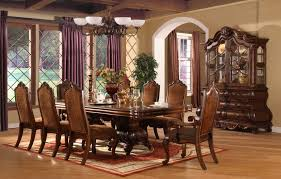 Large Round Dining Room Tables Dining Room Table For 10 Provisionsdining Com