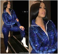 Fashion Sizzlers Archives Fashionsizzle by Cardi B In Off White Tracksuit Instagram Pic Fashionsizzle
