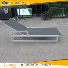 Beach Lounger Beach Bed Wood Beach Bed Wood Suppliers And Manufacturers At