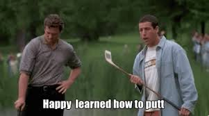 Happy Gilmore Meme - gilmore happy gif gilmore happy putt discover share gifs