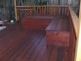 l shaped wood decking seating with storage google search