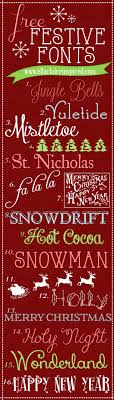 fabulous free festive fonts ella