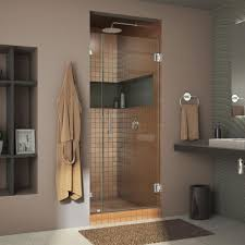34 Shower Door Dreamline Unidoor 34 In X 72 In Frameless Pivot Shower Door
