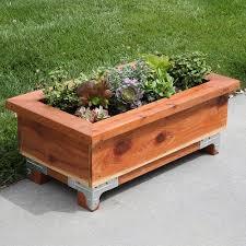 Wood You Furniture How To Make Wooden Planter Boxes Waterproof U2013 Wilson Rose Garden