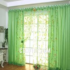 Green Sheer Curtains Room Beautiful Green Floral And Leaf Sheer Curtains