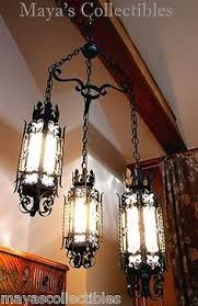 Gothic Chandelier Wrought Iron Gothic Revival Style Wrought Iron Ceiling Fixture1920 Gothic