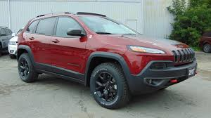 jeep red 2017 2017 jeep cherokee trailhawk news reviews msrp ratings with