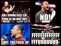 Cm Punk Meme - cm punk shut the fuck up meme memes quickmeme