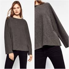 bell sleeve sweater zara zara bell sleeve sweater from suggested user s