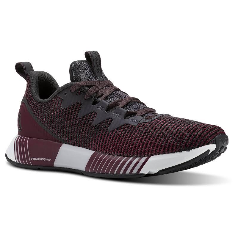 Reebok Fusion Flexweave Burgundy Running Shoes