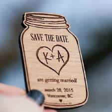 magnetic save the dates 12 rustic wedding ideas from etsy