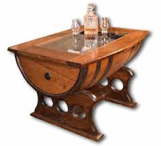 coffee table exciting barrel coffee table designs whiskey barrel