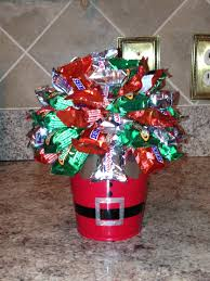 mini chocolate bar christmas bouquet creations by nicole candy