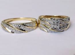 cheap his and hers wedding rings bridal sets 500 tags beautiful wedding rings for