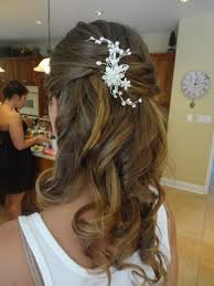 wedding hairstyles half up with headband best wedding hairs