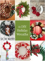 so creative 11 diy holiday wreaths