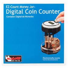 magnif ez count money jar digital coin counter walmart com