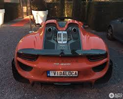 red porsche 918 porsche 918 spyder weissach package 3 september 2016 autogespot