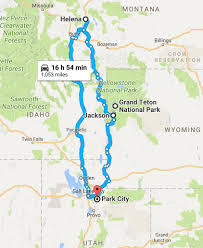 Utah National Park Map by Road Trip Utah Wyoming U0026 Montana 1082 Miles U2014 Travel Is Beautiful