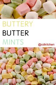 buttery butter mints recipe from cdkitchen com