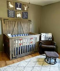 Rustic Nursery Decor Rustic Nursery Furniture Baby Pertaining To Ideas 3