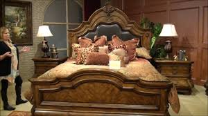 Michael Amini Hollywood Swank Bedroom Tuscano Melange Bedroom Set By Michael Amini Aico Home Gallery