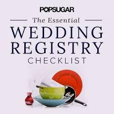 Wedding Registry Popsugar Food by