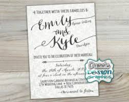 casual wedding invitations casual wedding invitation fonts die cut