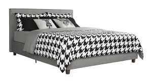 Trent Bedroom Set Espresso Finish Trent Austin Design Mammoth Lakes Linen Upholstered Platform Bed