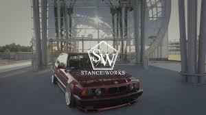 bmw e34 stance stance works e34 520i baz one