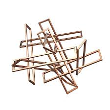 Modern Digs Furniture by Tangled Rectangles Sculpture Small Modern Digs Furniture