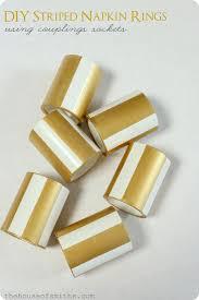 25 unique gold napkin rings ideas on napkin table
