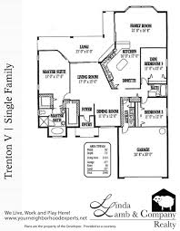 trenton v single family floor plan heritage palms linda lamb