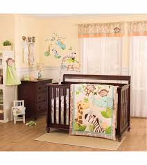 Convertible Crib Set S Jungle Play 4 Crib Bedding Set