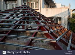 rafter construction stock photos u0026 rafter construction stock