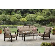 Wicker Patio Conversation Sets Better Homes And Garden Carter Hills Outdoor Conversation Set