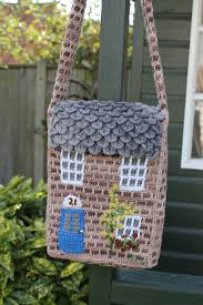 the crochet cottage bag pattern the twisted yarn