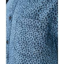 Blue Leopard Print Blue Leopard Print Top